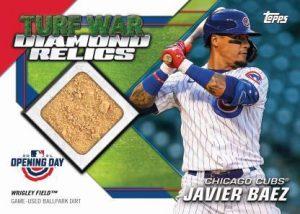 Turf War Diamond Relics Front Javier Baez MOCK UP