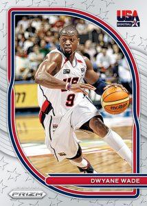 USA Basketball Dwayne Wade MOCK UP