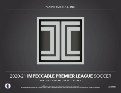2020-21 Panini Impeccable Premier League Soccer