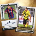 2020-21 Topps Museum Collection UEFA Champions League Soccer