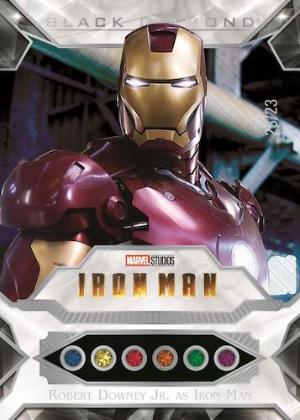 Base Infinity Stones Diamond Relics Robert Downey Jr as Iron Man MOCK UP