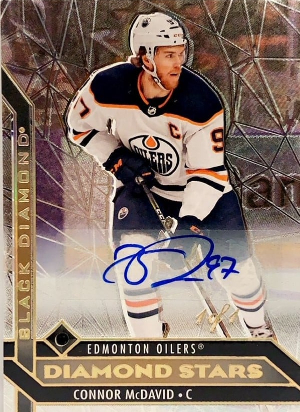 Diamond Stars Auto Connor McDavid