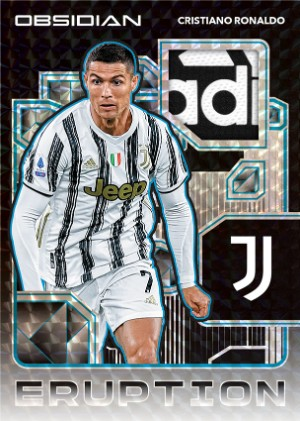 Eruption Relics Electric Etch Blue Cristiano Ronaldo MOCK UP