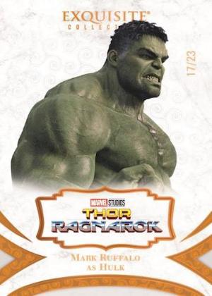 Exquisite Collection Orange Mark Ruffalo as Hulk MOCK UP
