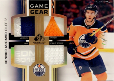 Game Gear Relics Connor McDavid