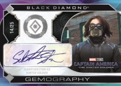 Gemography Auto Diamond Sebastian Stan as Winter Soldier MOCK UP