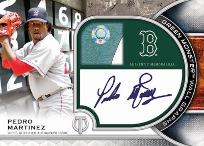 Green Monster Wall Graphs Pedro Martinez MOCK UP