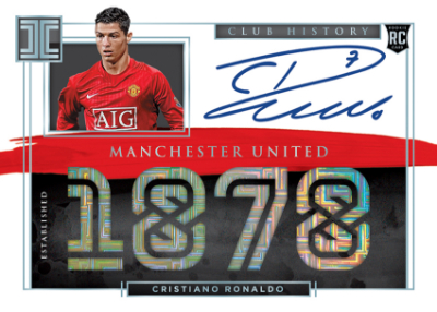 Impeccable Club History Auto Cristiano Ronaldo MOCK UP