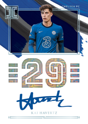 Impeccable Jersey Number Auto Kai Havertz MOCK UP