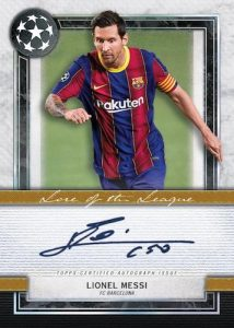 Lore of the League Auto Lionel Messi MOCK UP