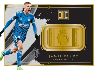 Premier League Logo Gold Jamie Vardy MOCK UP