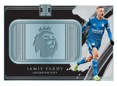 Premier League Logo Silver Jamie Vardy MOCK UP