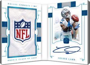 Rookie Jumbo Prime Signatures Booklet NFL Shield CeeDee Lamb MOCK UP