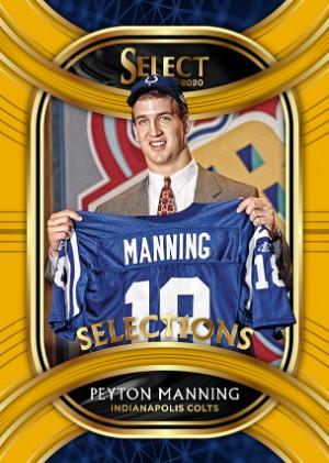 Select1ons Gold Prizm Peyton Manning MOCK UP