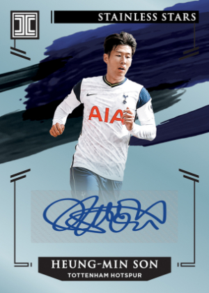 Stainless Stars Signatures Heung-Min Son MOCK UP
