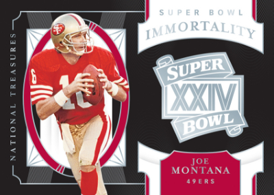 Super Bowl Immortality Joe Montana MOCK UP