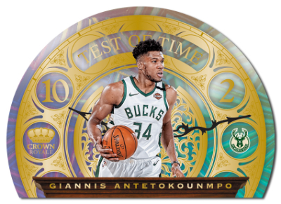 Test of Time Gold Giannis Antetokounmpo MOCK UP