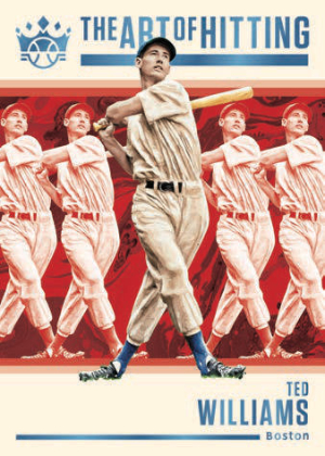 The Art of Hitting Ted Williams MOCK UP