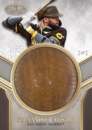 Tier One Bat Knob Fernando Tatis Jr MOCK UP