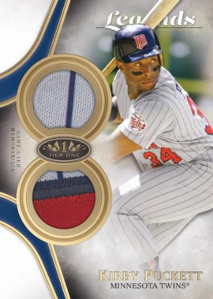 Tier One Legends Relic Kirby Puckett MOCK UP