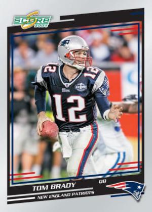 Tom Brady Score Update 2004 MOCK UP