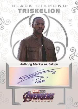 Triskellion Auto Anthony Mackie as Falcon MOCK UP