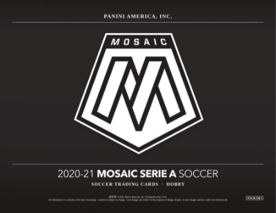 2020-21 Panini Mosaic Serie A Soccer