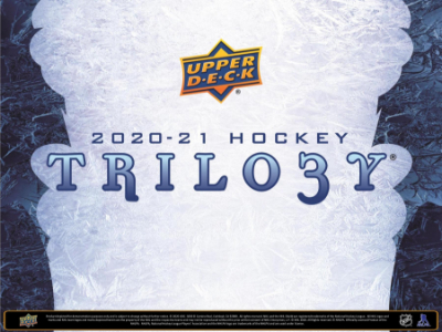 2020-21 UD Trilogy Hockey