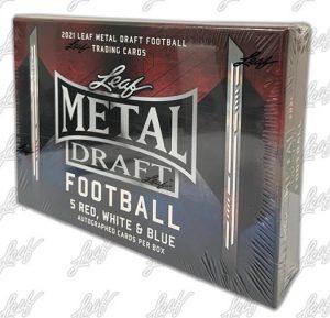 2021 Leaf Metal Draft Football
