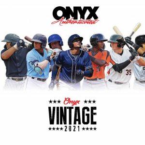 2021 Onyx Vintage Baseball