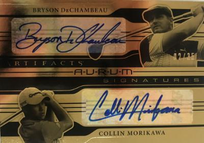 Aurum Dual Signatures Bryson DeChambeau, Collin Morikawa