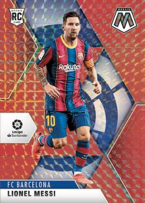 Base Mosaic Red Lionel Messi MOCK UP