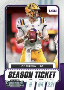 Base Season Ticket Joe Burrow MOCK UP