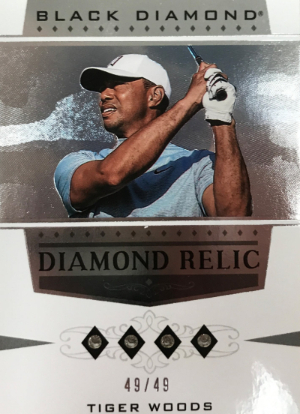 Black Diamond Relics Tiger Woods