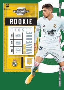 Contenders Rookie Ticket Green La Liga Federico Valverde MOCK UP