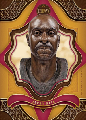Hall of Fame Dare to Tear Jerry Rice MOCK UP