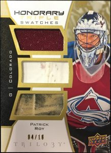 Honorary Triple Swatches Patrick Roy