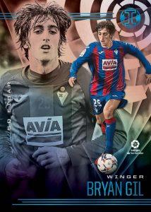 Illusions La Liga Trophy Collection Platinum Bryan Gil MOCK UP