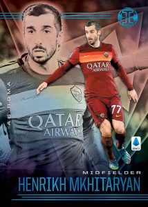 Illusions Serie A Trophy Collection Platinum Henrikh Mkhitaryan MOCK UP