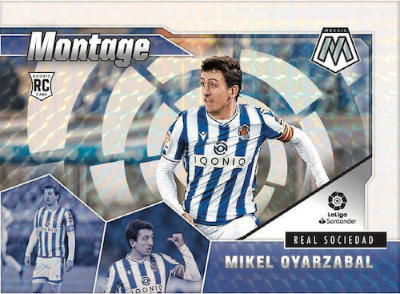 La Liga Montage Mosaic White Mikel Oyarzabal MOCK UP