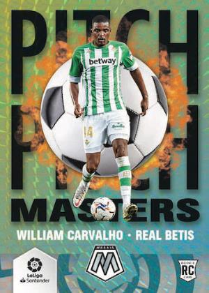 La Liga Pitch Maters William Carvalho MOCK UP