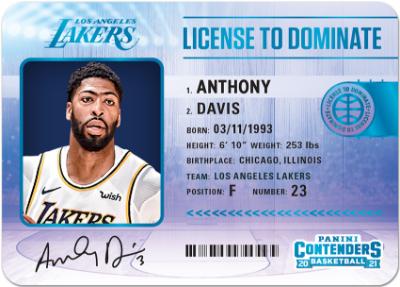 License to Dominate Anthony Davis MOCK UP