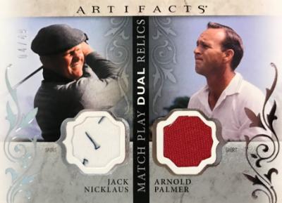 Match Play Dual Relics Jack Nicklaus, Arnold Palmer