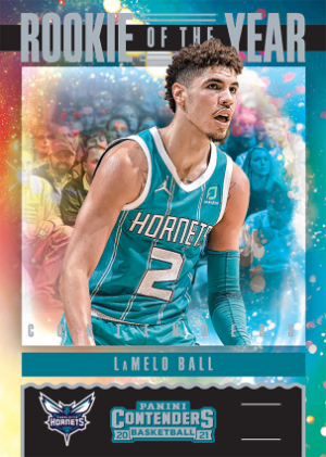 Rookie of the Year Contenders LaMelo Ball MOCK UP