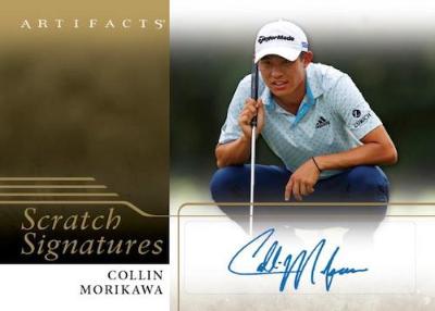 Scratch Signatures Collin Morikawa MOCK UP