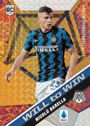 Serie A Will to Win Nicolo Barella MOCK UP