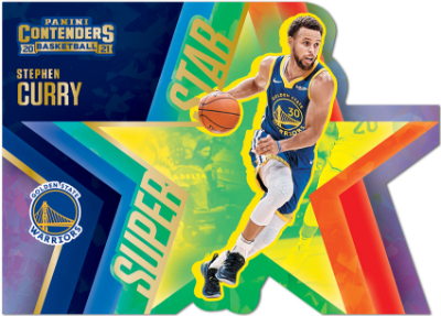 Superstar Die-Cuts Cracked Ice Stephen Curry MOCK UP