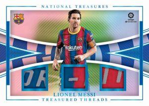 Treasured Threads Platinum Lionel Messi MOCK UP