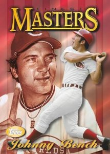 1997 Topps Finest Masters Johnny Bench MOCK UP