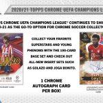 2020-21 Topps Chrome UEFA Champions League Soccer